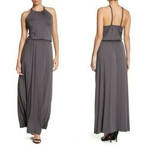 Go Couture Halter Maxi Dress NWOT